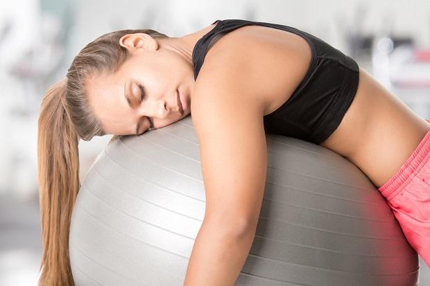 усталость после тренировки