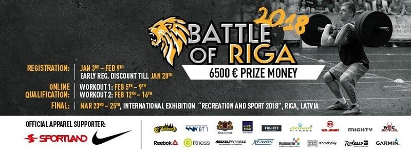 Кроссфит турнир в Риге