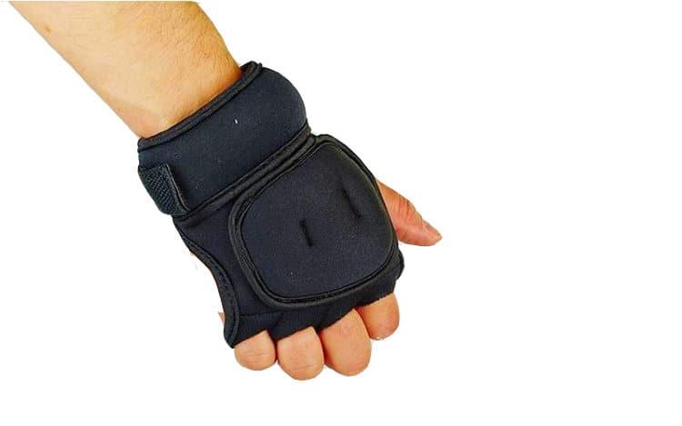 Перчатки утяжелители с малым весом