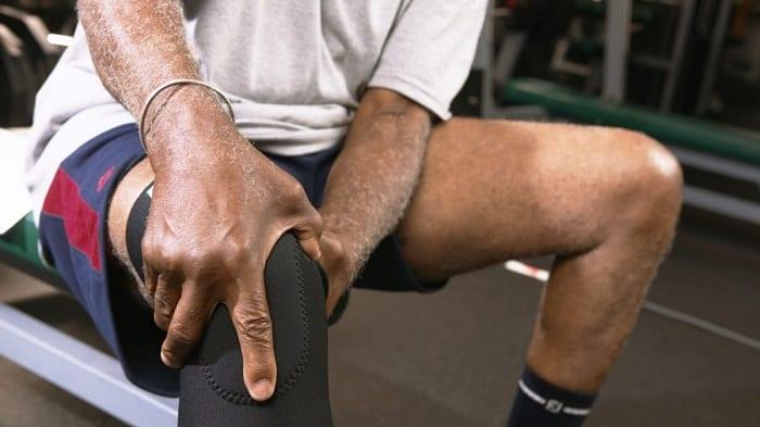 Повязка при травме колена