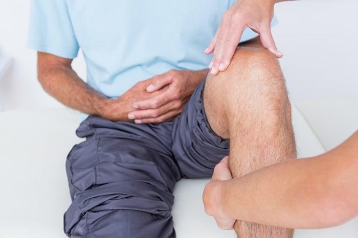 Повреждение коленного сустава.первая помощь биохимический анализ крови при артрозе коленного сустава