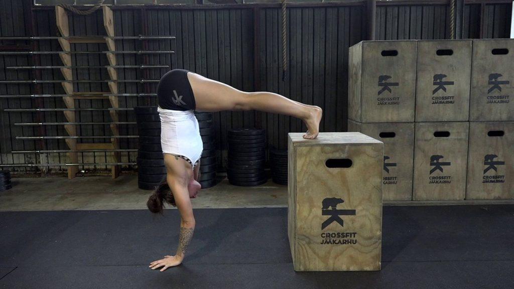 Упражнение на боксе