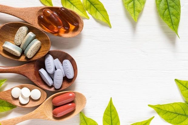 Различные виды витаминов