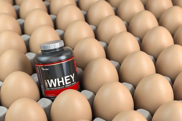 Сывороточный и яичный протеин