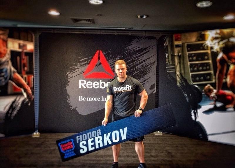 Кроссфитер Федор Серков