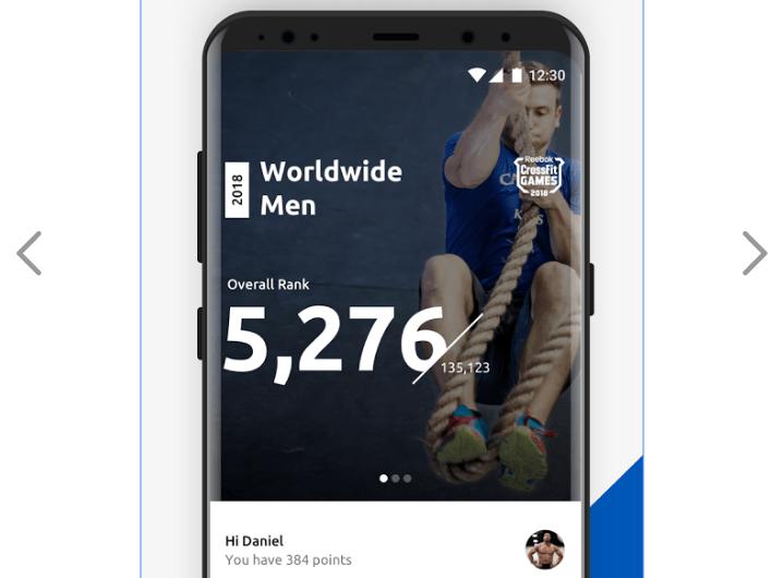 Скриншот мобильного приложения