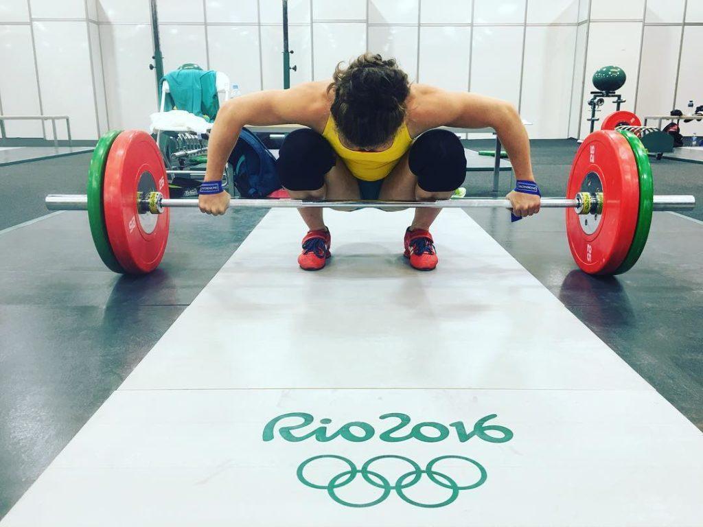 Тиа-Клэр Туми на Олимпиаде