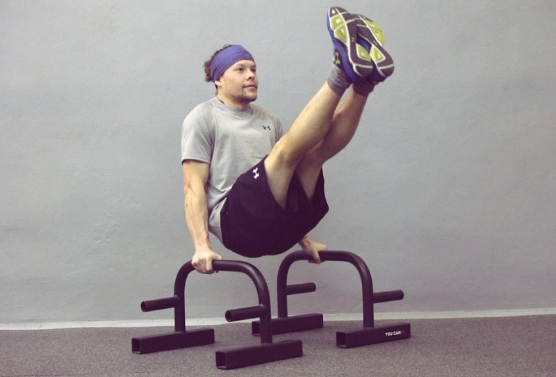 Упражнение уголок