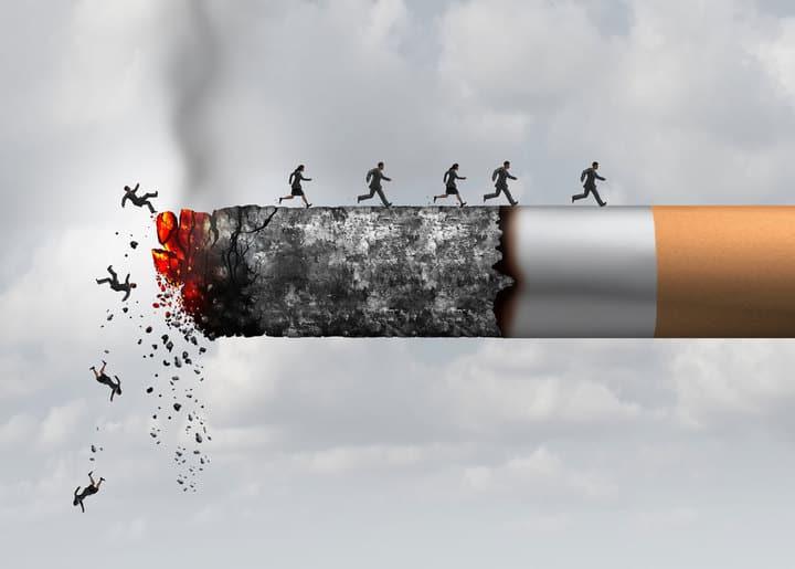 Влияние сигарет на спортсмена