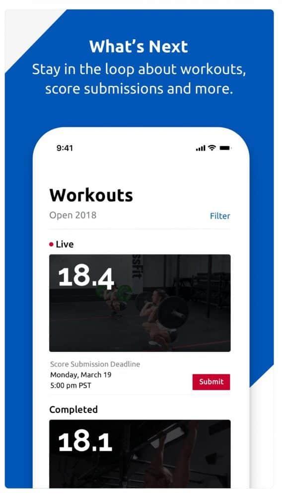 фото приложения CrossFit Games
