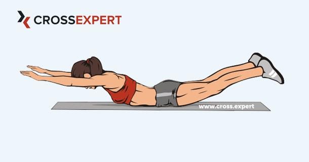 упражнение лодочка