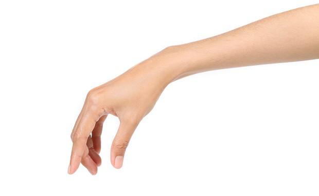 Щипковый хват кисти руки