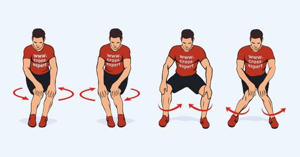 вращение в коленном суставе
