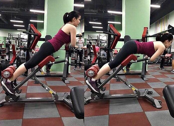 Как делать гиперэкстензию для ног