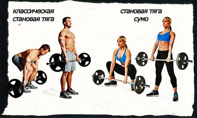 Становая тяга для прокачки спины