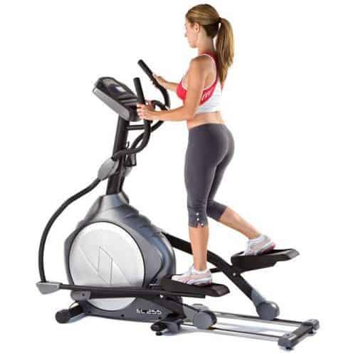 Тренажер элипс для проработки мышц ног