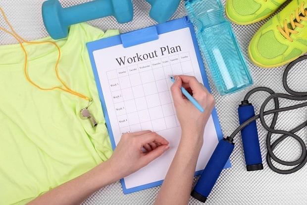 Ведение записей в дневнике тренировок