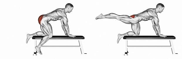 Упражнения для верхней части бедра