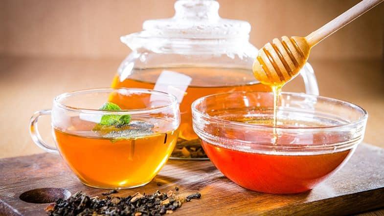 Мед отлично заменяет сахар