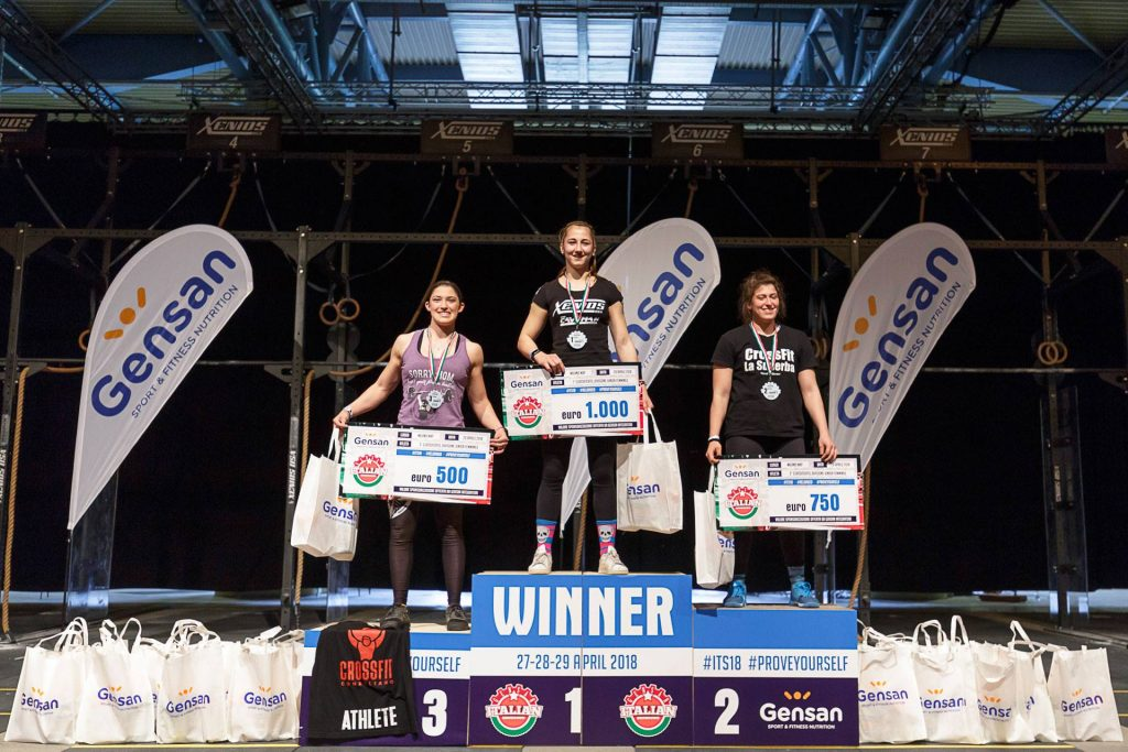 Девушки-победители Gensan Italian Showdown 2018