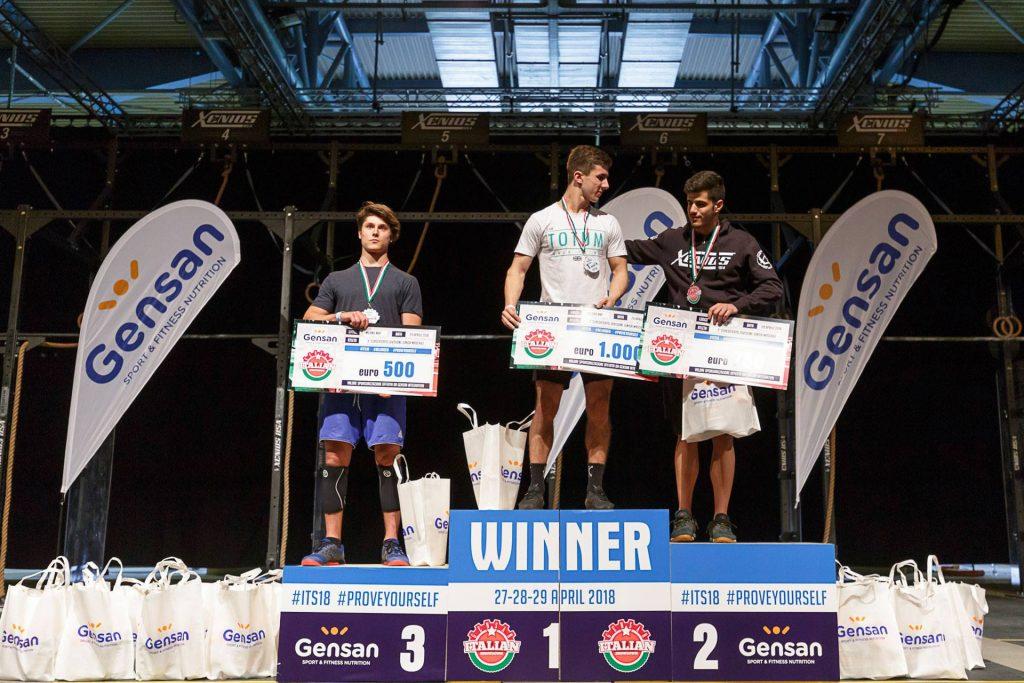 Юноши-победители Gensan Italian Showdown 2018