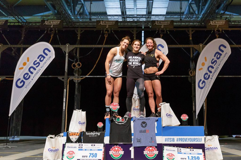 Женщины-победители 20-34 Gensan Italian Showdown 2018