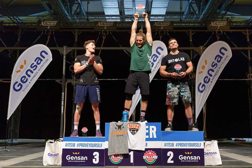 Мужчины-победители 20-34 Gensan Italian Showdown 2018
