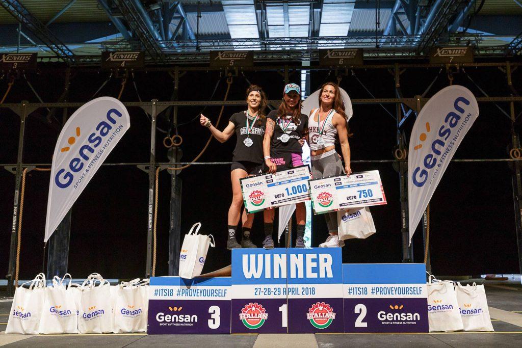 Женщины-победители 35-39 Gensan Italian Showdown 2018