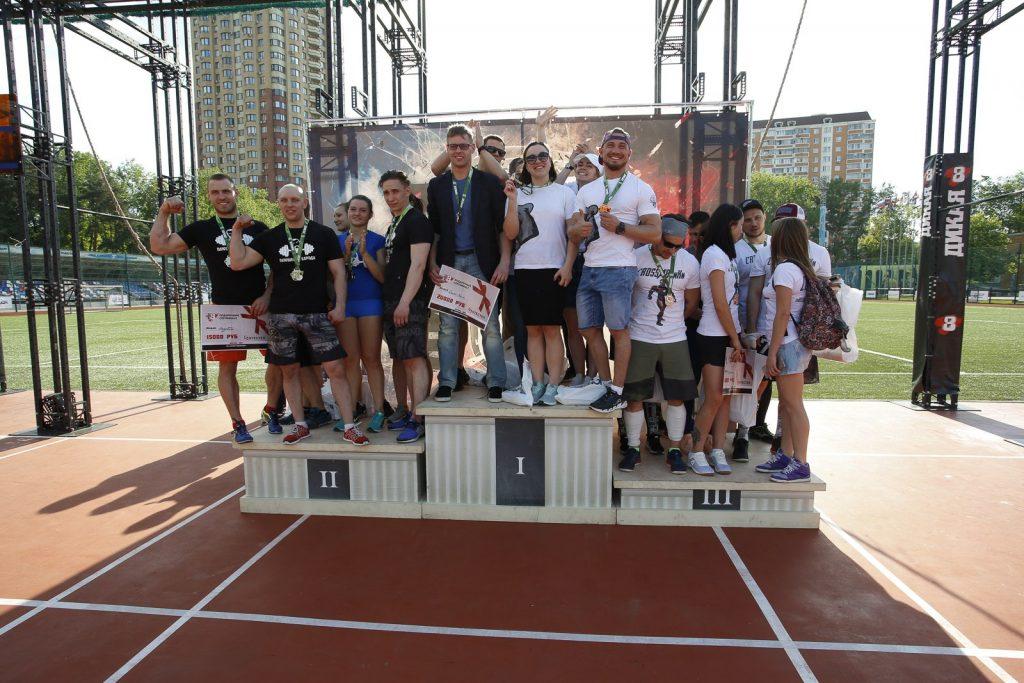 Победители первого этапа