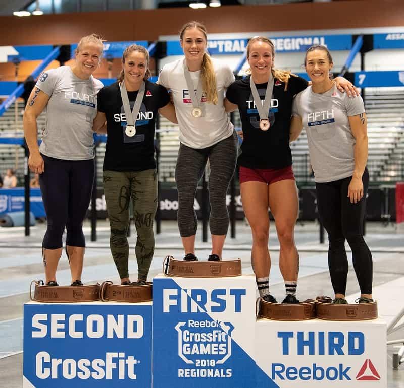 Победительницы Reebok CrossFit Regionals 2018 в Центральном регионе