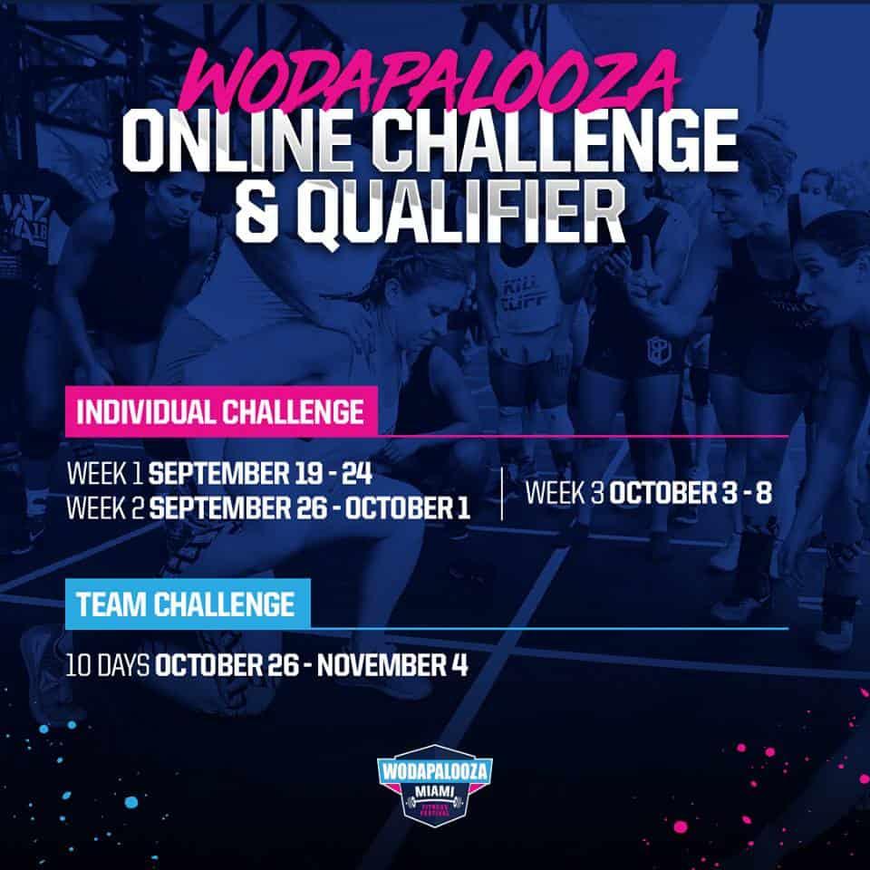 Wodapalooza Online Challenge & Qualifier-2019