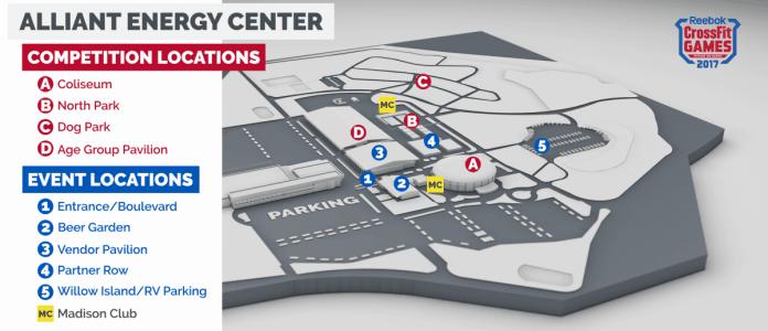 Для CrossFit Games 2018 готовится новый стадион в Мэдисоне