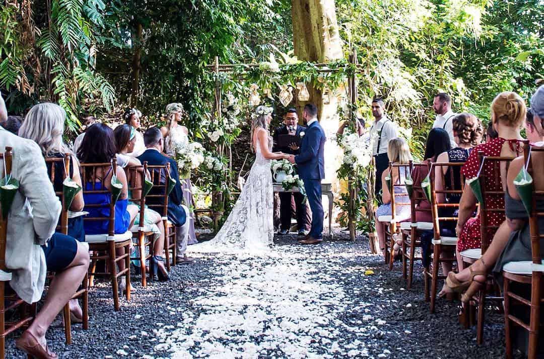 Роб Форте сыграл свадьбу на осьрове Бали