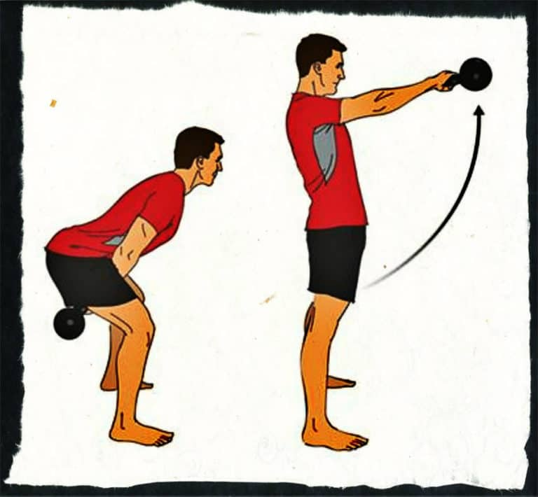 Как выполнять махи гирей для эффективного кардио