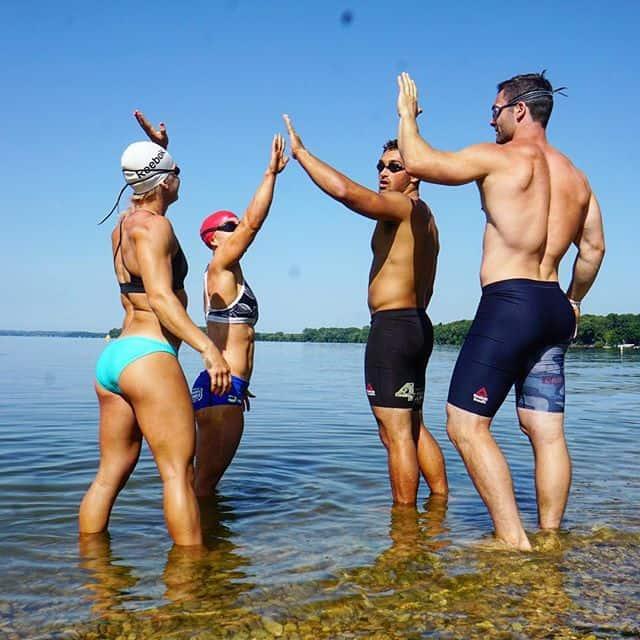 Командный заплыв на CrossFit Games 2018