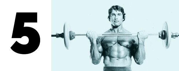 5 базовых упражнений на бицепс