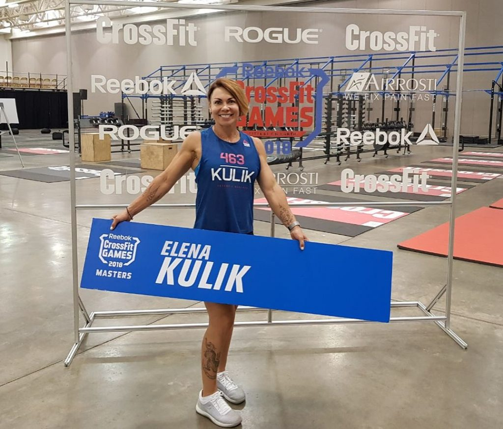Елена Кулик на CrossFit Games 2018