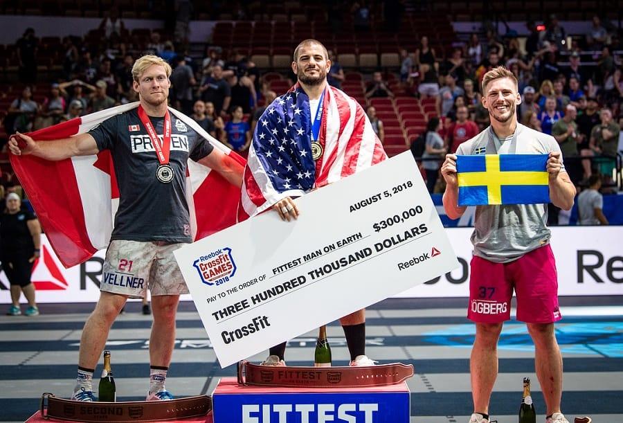 Победители CrossFit Games 2018