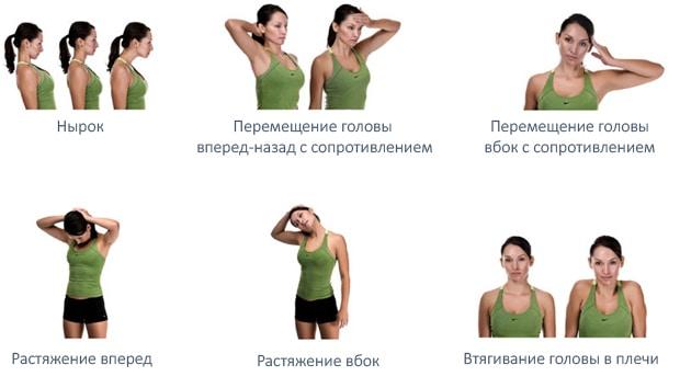 Полезные упражнения для шеи