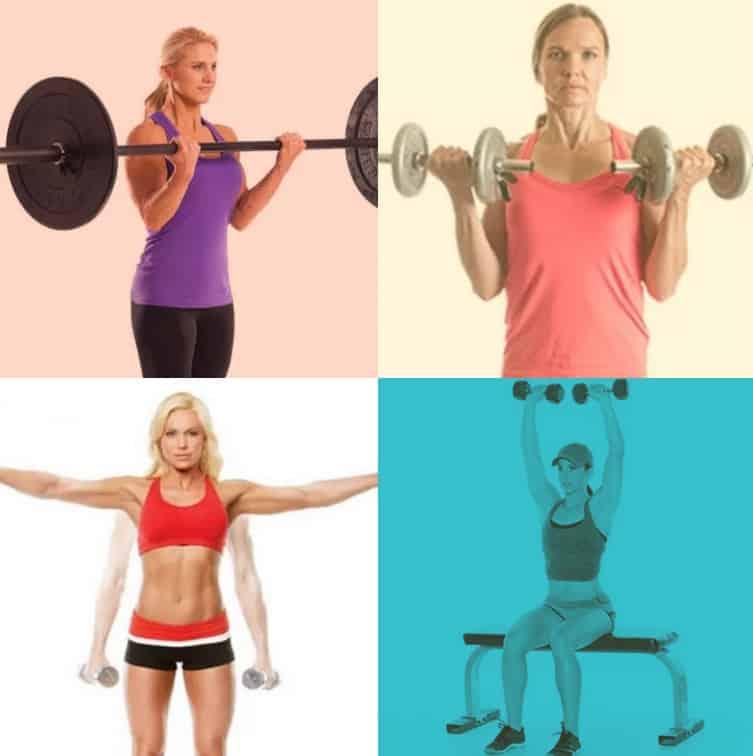 упражнения на руки и плечи для девушек