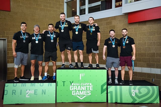 Granite Games 2018-Team-men