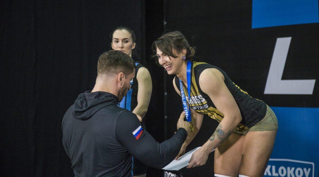 Награждение Валерии Мишки