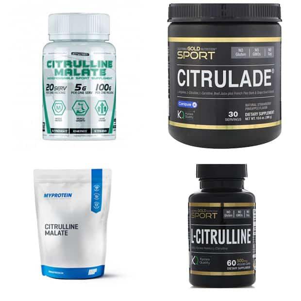 Цитруллин малат и другие спортивные добавки