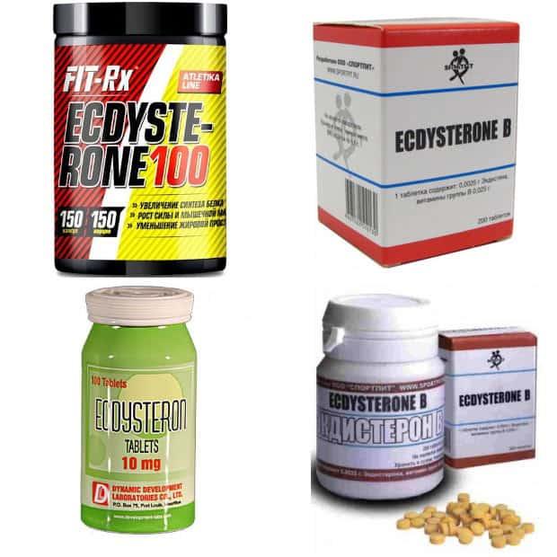 Четыре разных экдистерона