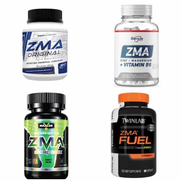 Спортивное питание ZMA