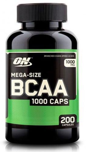 200 капсул БЦАА