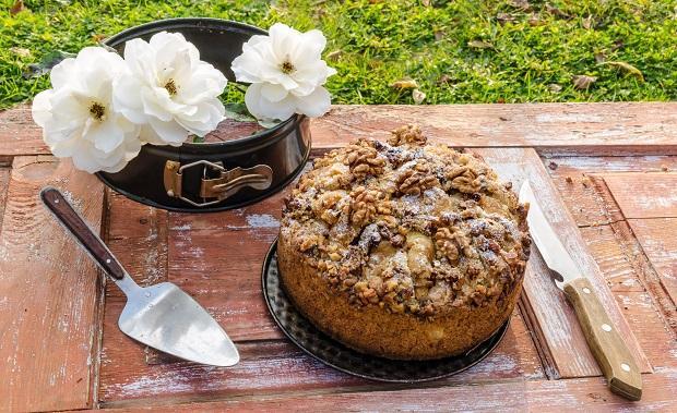 торт с грецким орехом