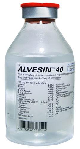 Упаковка Альвезина