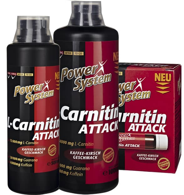 L-carnitin Attack от Power System