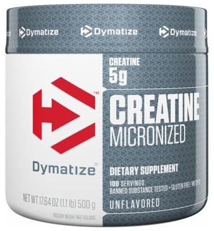 Creatine Micronized от Dymatize в новой упаковке